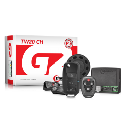 ALARME AUTOMOTIVO TARAMPS - TW 20 CH - CHAVE CANIVETE