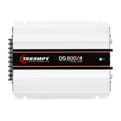 Modulo Amplificador Taramps 800 Rms DS 800X4 Stereo Digital 4 Canais 2 Ohms Classe D Crossover Full Range