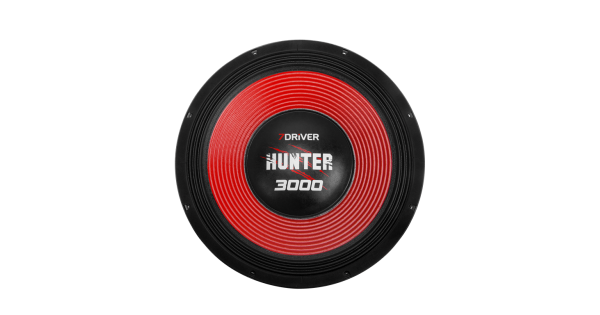 WOOFER ALTO FALANTE 7 DRIVER AUDIO - 15 HUNTER 3000 - 1500 WRMS - 4 OHMS a961f601854