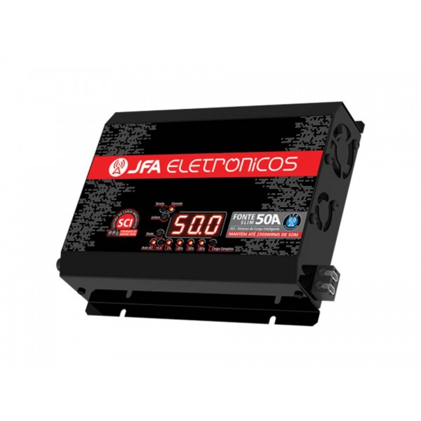 FONTE AUTOMOTIVA JFA - 50A SCI