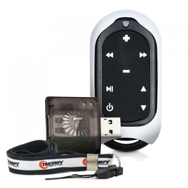 Controle Longa Distância Taramps Connect Control Som Carro Branco