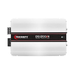 Módulo Taramps Ds 1200x4 2 Ohm 1200w Amplificador Automotivo