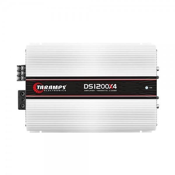 Módulo Taramps Ds 1200x4 2 Ohm 1200w Amplificador Automotivo