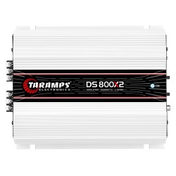Módulo Taramps Ds 800x2 2 Ohms 800w Amplificador Automotivo