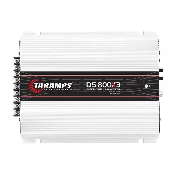 Módulo Taramps Ds 800x3 800w Amplificador Automotivo 2ohms