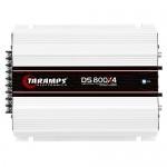 Módulo Taramps Ds 800x4 800w Amplificador Automotivo 1OHMS