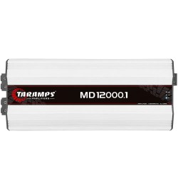Modulo Taramps Md 12000.1 0,5 Ohm 12000w Amplificador Automotivo