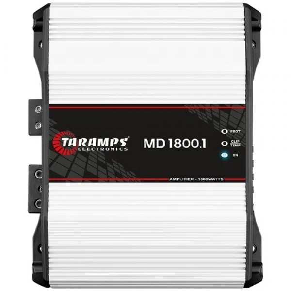 Módulo Taramps Md 1800.1 1800w Amplificador Automotivo 1 ohms
