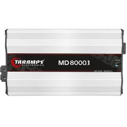 Módulo Taramps Md 8000.1 8000w Amplificador Automotivo 2 ohms