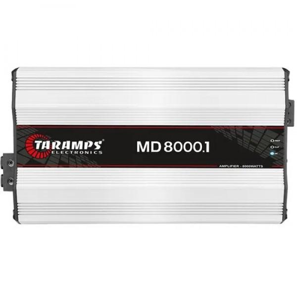 Módulo Taramps Md 8000.1 8000w Amplificador Automotivo 2 ohms